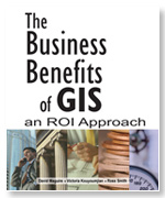 Click image for a larger image of The Business Benefits of GIS cover