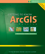 Click image for a larger image of Getting to Know ArcGIS Desktop cover