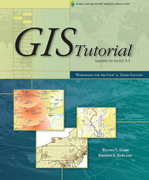 Click image for a larger image of GIS Tutorial, Third Edition cover
