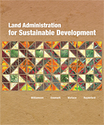 Click image for a larger image of Land Administration for Sustainable Development cover