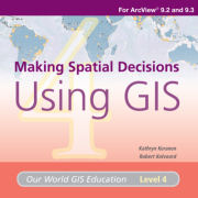 Click image for a larger image of Making Spatial Decisions Using GIS Media Kit cover