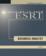 Click image for a larger image of Getting to Know ESRI Business Analyst cover