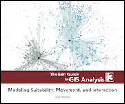 Click image for a larger image of The Esri Guide to GIS Analysis, Volume 3 cover