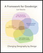 Click image for a larger image of A Framework for Geodesign cover