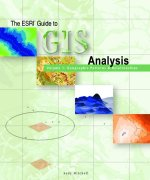 Click image for a larger image of The ESRI Guide to GIS Analysis, Volume 1 cover