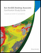 Click image for a larger image of Esri ArcGIS Desktop Associate Certification Study Guide cover