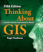 Click image for a larger image of Thinking About GIS cover