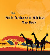 Click image for a larger image of The Sub-Saharan Africa  Map Book cover