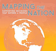 Click image for a larger image of Mapping the Nation: Supporting Decisions that Govern a People cover