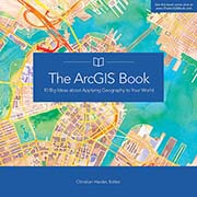 Click image for a larger image of The ArcGIS Book cover