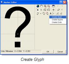 Create glyph