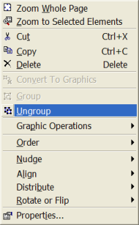BCL Ungroup