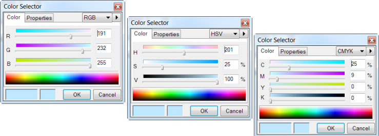 Color Selector - All 3