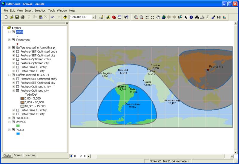 Figure 4 - Feature optimized