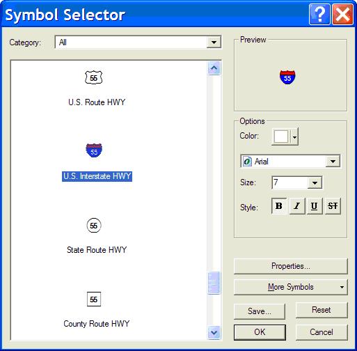 Symbol Selector