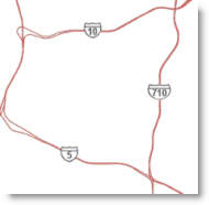 Highway shields example