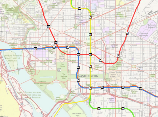 DOO - DC Map with Metro