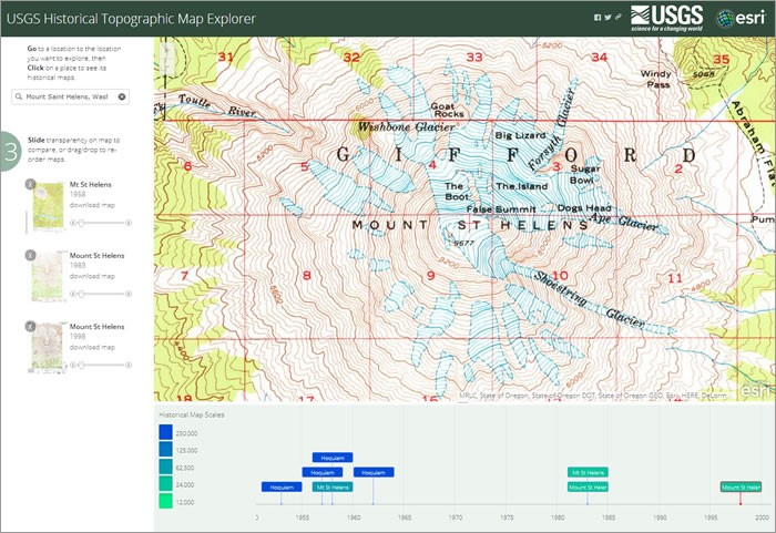 USGS Historical Topographic Maps in ArcGIS Online and ArcMap