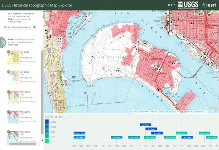 USGS Historical Topographic Maps In ArcGIS Online And ArcMap - Usgs topographic maps online