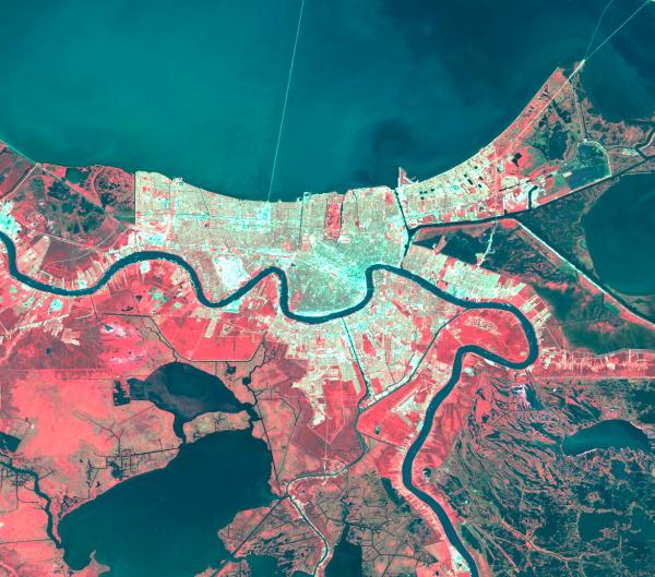 Landsat 2: CIR