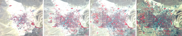 Landsat 2: Las Vegas, Nevada, USA