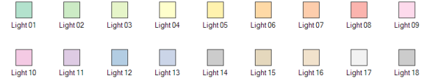 Canvas Map Color Styles - Light