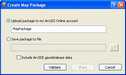 Map Packages - ArcGIS Online