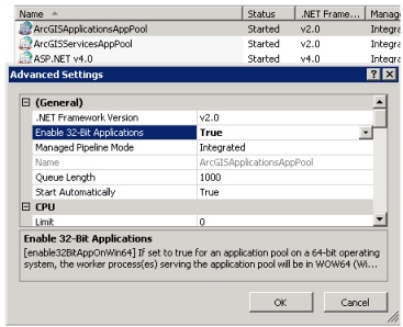 Application pools in IIS