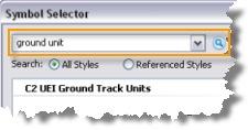 Symbol Selector search box