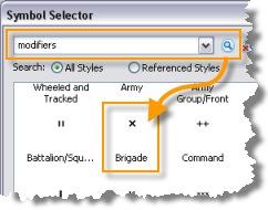 Search modifiers