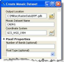 Create Mosaic Dataset