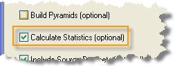 Calculate statistics