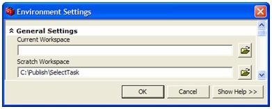 Setting the Scratch Workspace