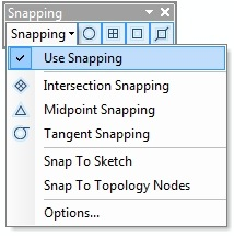 Snap to Sketch option as shown in ArcMap 10's Snapping dialog window