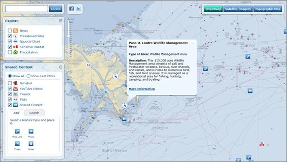 VGI Web map