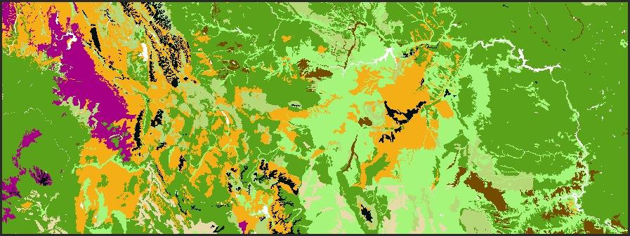 9.2M Map Scale - Montana
