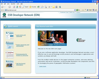 The new EDN start page