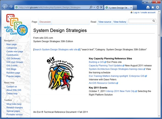 Esri System Architecture Design Strategies
