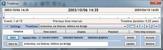 Timeliner UI