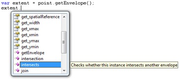 IntelliSense on an object returned from a method