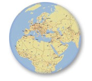 ArcGIS Online globe