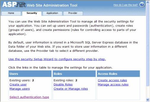WSAT access management