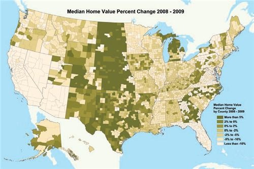 2009 Home Value Map