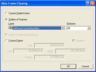Choosing the clip outline