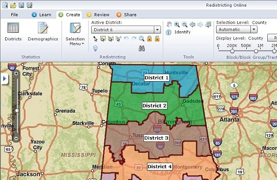 Online redistricting apps give people a voice in the redistricting process.