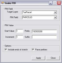 Snake PIN Dialog