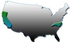 bi-coastal support centers