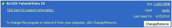 add/remove programs